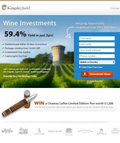 Premium Landing Page