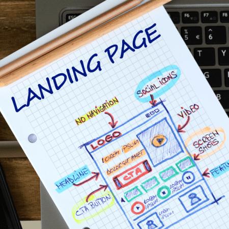 Metrolocal Media Landing Page Design