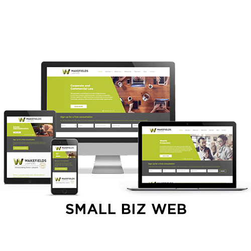 metrolocal media small business website design